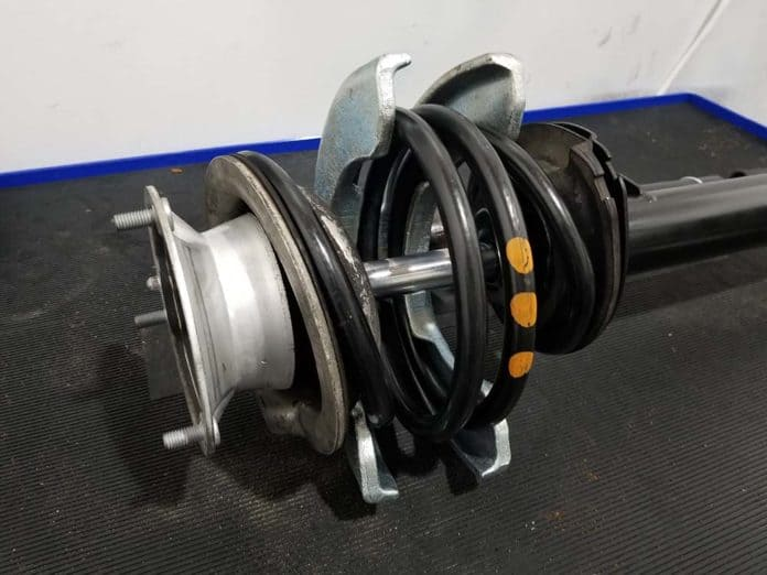 plate style spring compression tool