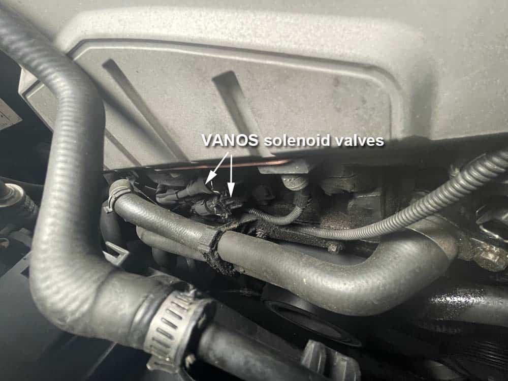 bmw n52 vanos solenoid replacement - the solenoid valves