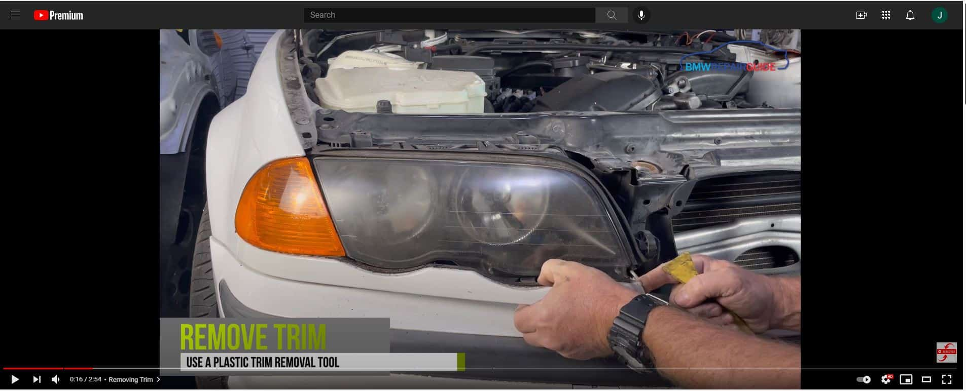 e46 headlight